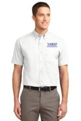 VAREP Men's Button-Down Collar, Short Sleeve