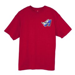 Angels Softball Unisex tee with chest Logo