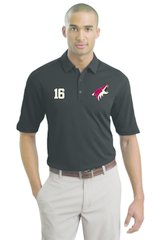 2017 Jr Coyote Nike Polo Jr Coyote Logo and Number