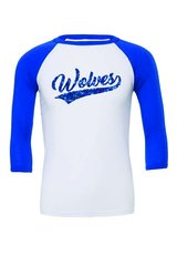 YOUTH Mascot Raglan Baseball tee