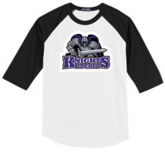 AHU Youth Baseball Shirt with Knight Logo