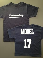 "Custom ""Your team/name"" Baseball Tee"