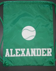 Custom Baseball/Softball Cinch Back Pack