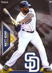 """2016 MLB MATT KEMP San Diego Padres Fathead Tradeable 5"""" X 7"""""""