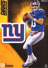 2016 ELI MANNING NEW YORK GIANTS NFL Fathead Tradeable