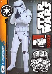 """STAR WARS Stormtrooper 4 Decals Fathead Tradeable 5"""" x 7"""""""