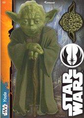"STAR WARS Yoda 4 Decals Fathead Tradeable 5"" x 7"""