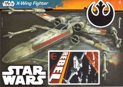 """STAR WARS X-Wing Fighter Fathead Tradeable 5"""" x 7"""""""