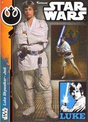 """STAR WARS Luke Skywalker Jedi Fathead Tradeable 5"""" x 7"""""""