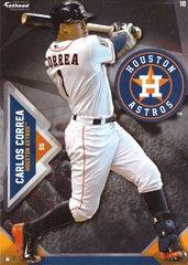 "2016 MLB CARLOS CORREA Houston Astros Fathead Tradeable 5"" X 7"""