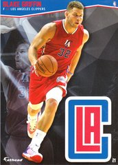 "2016 NBA BLAKE GRIFFIN LOS ANGELES CLIPPERS Fathead Tradeable 5"" X 7"""