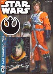 """STAR WARS Luke Skywalker Pilot Fathead Tradeable 5"""" x 7"""""""