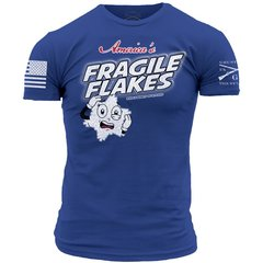 GRUNT STYLE FRAGILE FLAKES T-SHIRT AMERICA PATRIOTIC