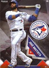 "2016 MLB JOSE BAUTISTA Toronto Blue Jays Fathead Tradeable 5"" X 7"""
