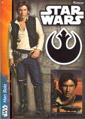 "STAR WARS Han Solo Fathead Tradeable 5"" x 7"""