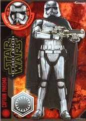 "Star Wars CAPTAIN PHASMA The Force Awakens Fathead Tradeable 5"" x 7"""