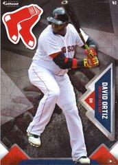 "2016 MLB DAVID ORTIZ Boston Red Sox Fathead Tradeable 5"" X 7"""