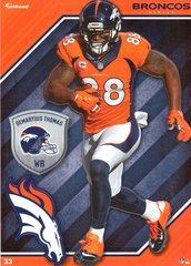 2015 NFL DEMARYIUS THOMAS DENVER BRONCOS Fathead Tradeable