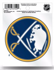 NHL BUFFALO SABRES HOCKEY STATIC CLING WINDOW DECAL OFFICIALLY LICENSED