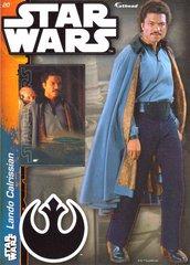 "STAR WARS Lando Calrissian 4 Decals Fathead Tradeable 5"" x 7"""