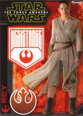 """Star Wars REY The Force Awakens Fathead Tradeable 5"""" x 7"""""""