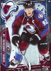 "2016 NHL GABRIEL LANDESKOG COLORADO AVALANCHE Fathead Tradeable 5"" X 7"""