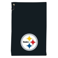 "NFL Pittsburgh Steelers Sports Towel 15"" X 25"" with grommet and hook Golf"