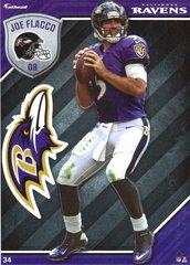 2015 NFL JOE FLACCO BALTIMORE RAVENS Fathead Tradeable