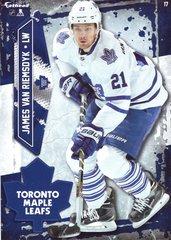 "2016 NHL JAMES VAN RIEMSDYK TORONTO MAPLE LEAFS Fathead Tradeable 5"" X 7"""