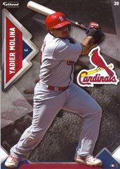 "2016 MLB YADIER MOLINA St. Louis Cardinals Fathead Tradeable 5"" X 7"""