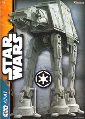 """STAR WARS AT-AT 2 Decals Fathead Tradeable 5"""" x 7"""""""