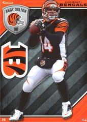2015 NFL ANDY DALTON CINCINNATI BENGALS Fathead Tradeable