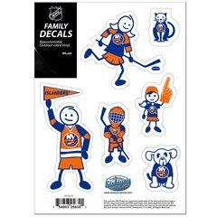 NHL New York Islanders Family Decals Auto Car Vinyl Stickers NEW!