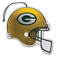 NFL Air Freshener Vanilla Scent 3 Pack GREEN BAY PACKERS OFFICIALLY LICENSED