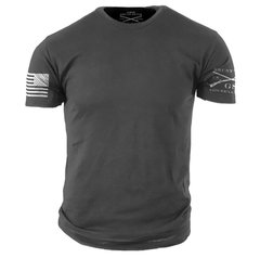 HEAVY METAL Grunt Style T-Shirt USA PATRIOTIC