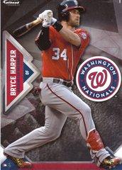 "2016 MLB BRYCE HARPER Washington Nationals Fathead Tradeable 5"" X 7"""