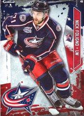 "2016 NHL NICK FOLIGNO COLUMBUS BLUE JACKETS Fathead Tradeable 5"" X 7"""