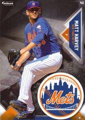 "2016 MLB MATT HARVEY New York Mets Fathead Tradeable 5"" X 7"""