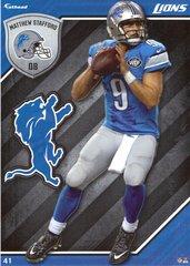 2015 NFL MATTHEW STAFFORD DETROIT LIONS Fathead Tradeable
