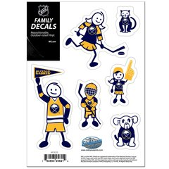 NHL BUFFALO SABRES Family Decals Auto Car Vinyl Stickers NEW!