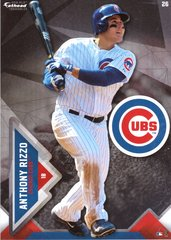 """2016 MLB ANTHONY RIZZO Chicago Cubs Fathead Tradeable 5"""" X 7"""""""