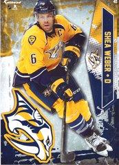 """2016 NHL SHEA WEBER NASHVILLE PREDATORS Fathead Tradeable 5"""" X 7"""""""