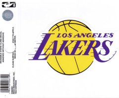 NBA LOS ANGELES LAKERS STATIC CLING WINDOW DECAL OFFICIALLY LICENSED