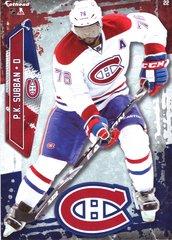 "2016 NHL P.K. SUBBAN MONTREAL CANADIENS Fathead Tradeable 5"" X 7"""