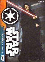 "STAR WARS Emperor Palpatine Fathead Tradeable 5"" x 7"""