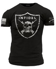 INFIDEL Grunt Style T-Shirt Military American Patriotic