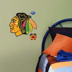 "Chicago Blackhawks Fathead Teammate Logo NHL 12"" X 11"" Officially Licensed Hockey"