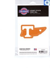 NCAA Tennessee Volunteers Home State Repositionable Vinyl Decal Auto Car NEW!!!