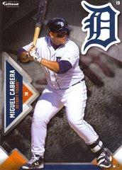 "2016 MLB MIGUEL CABRERA Detroit Tigers Fathead Tradeable 5"" X 7"""