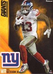 2016 ODELL BECKHAM JR. NEW YORK GIANTS NFL Fathead Tradeable